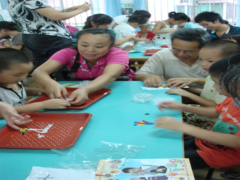 我园组织亲子手工软陶教学公开活动-文船幼儿园